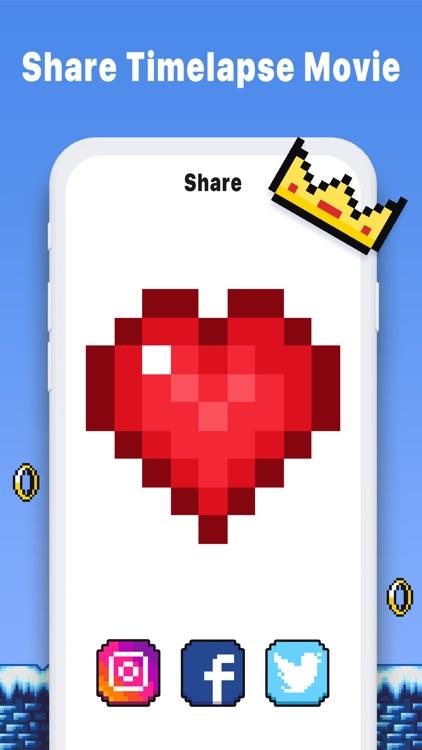 Pixel Art Book - Coloring Game screenshot-3