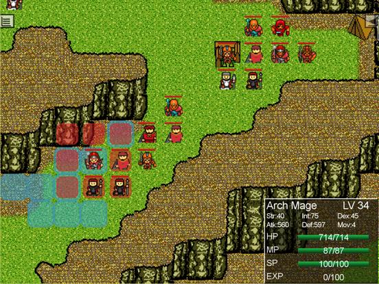 Yama Medieval age fantasy SRPGのおすすめ画像2
