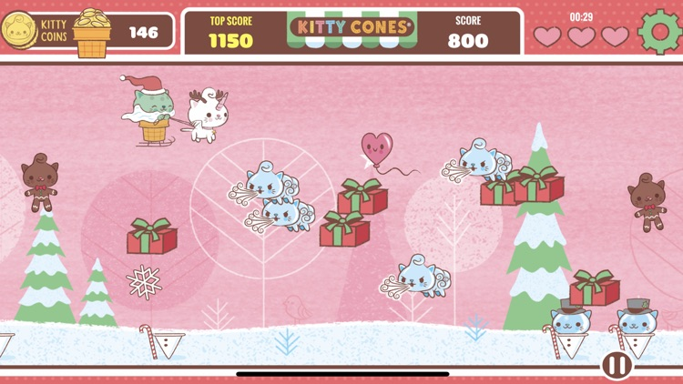 Kitty Cones Christmas screenshot-5