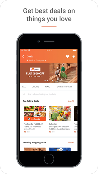 Freecharge - Payments & Wallet 4 6 4 pour iOS, Android, Windows Phone