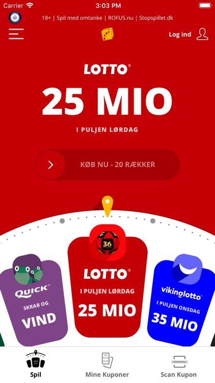 Lotto – Køb spil, se vindertal screenshot-0