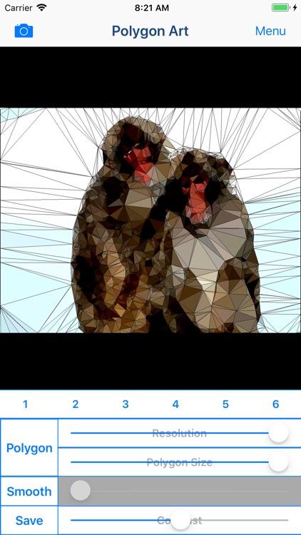 Polygon Art - 3D Image Editor screenshot-3