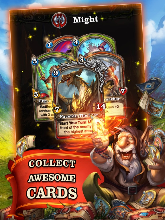 Mighty Heroes CCG screenshot 8