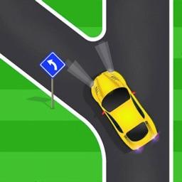 Traffic Run! Fun Park race 3D