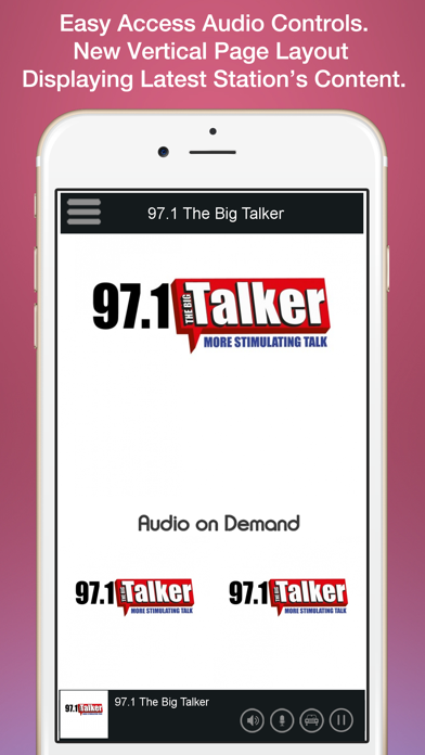 97.1 The Big Talker screenshot two