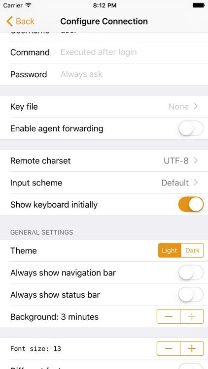 Shelly - SSH Client screenshot-3