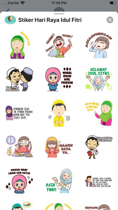 Stiker Hari Raya Idul Fitri