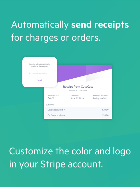 Screenshot #6 pour Payment for Stripe