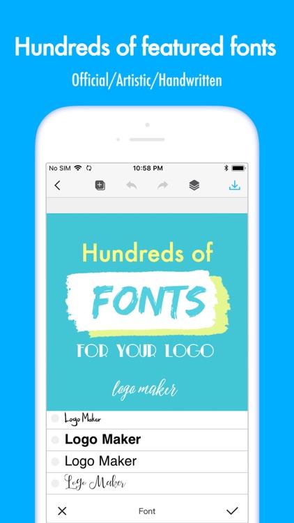Logo Maker & graphic design screenshot-3