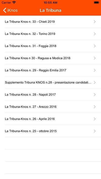 Screenshot of iKnos4