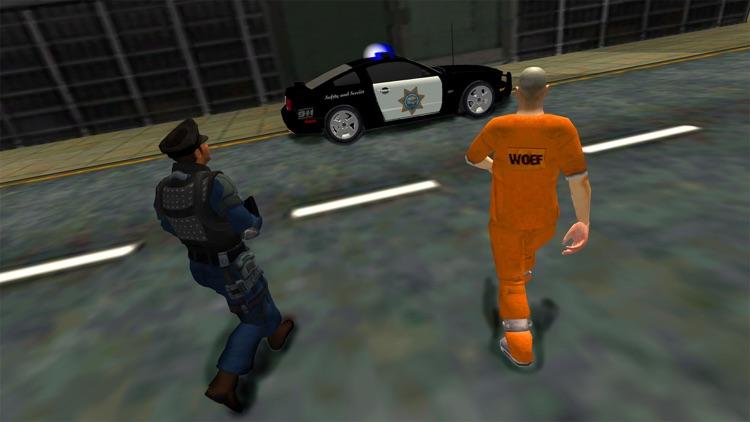 Prison Transporter Police Car screenshot-3