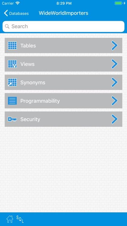 SqlWebProg2  Sql Server Client screenshot-3