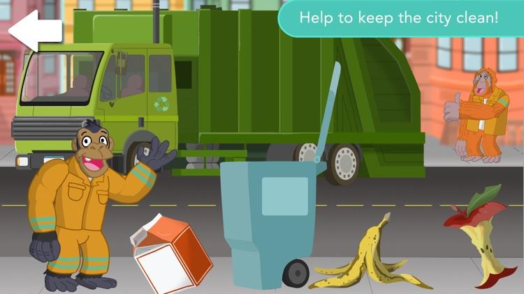 Big City Vehicles for Kids screenshot-7