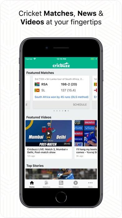 Screenshots for Cricbuzz Cricket Scores & News