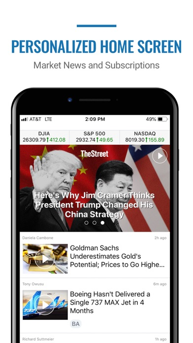 TheStreet – Investing News Screenshot