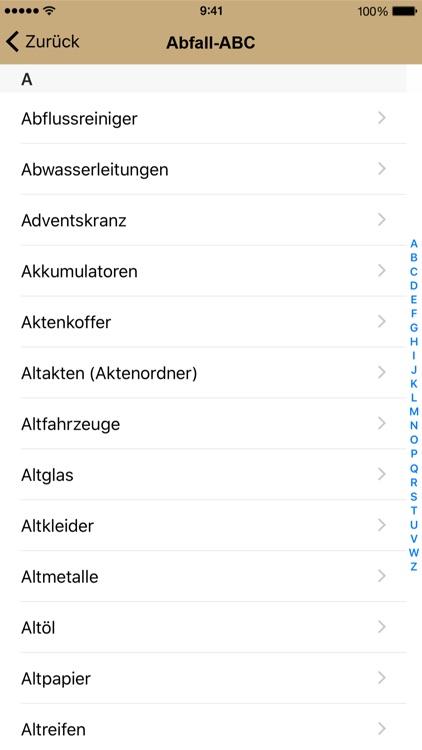 Abfall App Sigmaringen screenshot-4