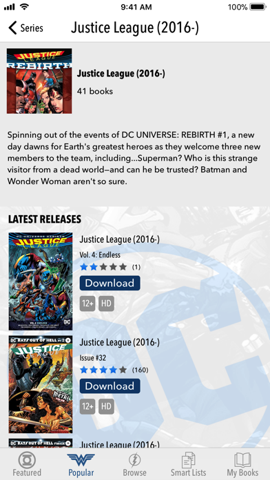 Dc Comics review screenshots