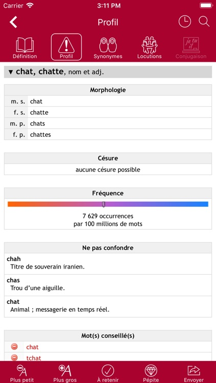 Dictionnaire Le Robert Mobile screenshot-3