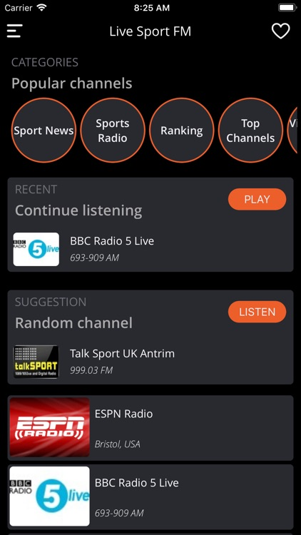 Live Sport FM: Radio & News 24 screenshot-6
