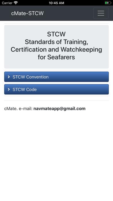 cMate-STCW screenshot #1