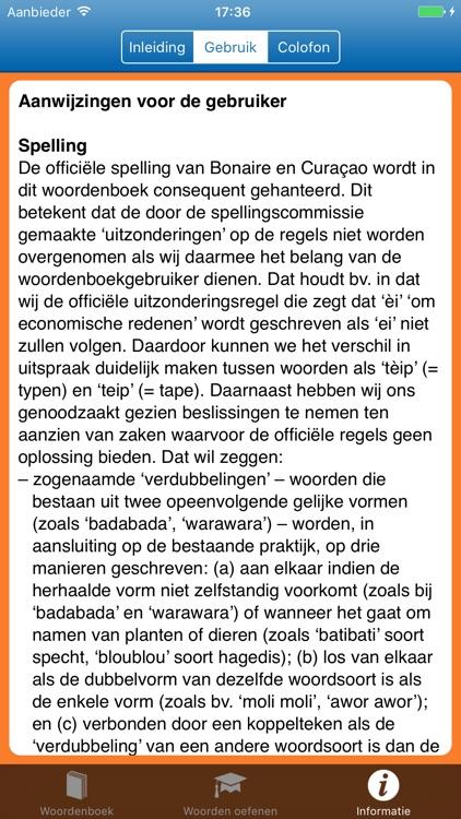 Woordenboek Papiaments > NL screenshot-4