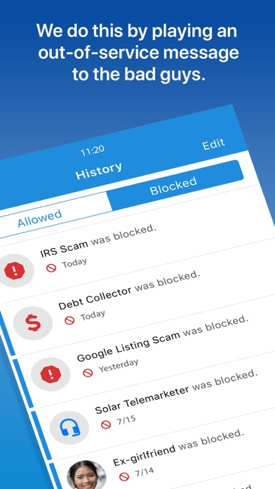 Screenshot for YouMail Voicemail & Call Block in United States App Store