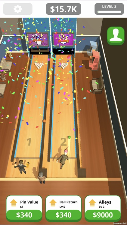 Idle Tap Bowling screenshot-1