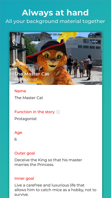 Screenshot for Story Planner for Writers in Canada App Store
