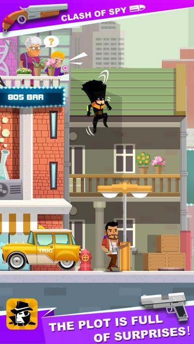 Clash of Spy - shoot puzzles screenshot 1