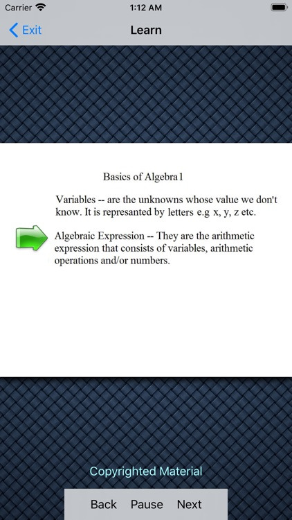 Basics Of Algebra 1