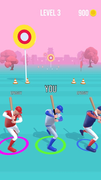 Baseball Race screenshot 2