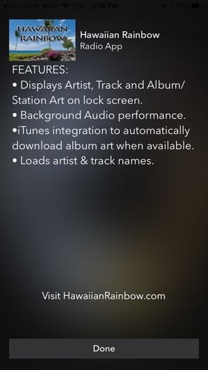 NEW Hawaiian Rainbow Radio on the App Store