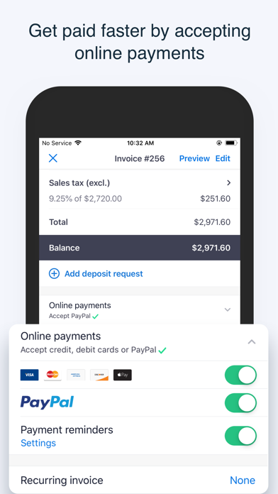 Invoice2go Invoice & Estimate Screenshot