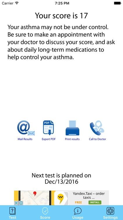 Asthma Test