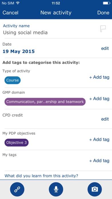 GMC My CPD screenshot four