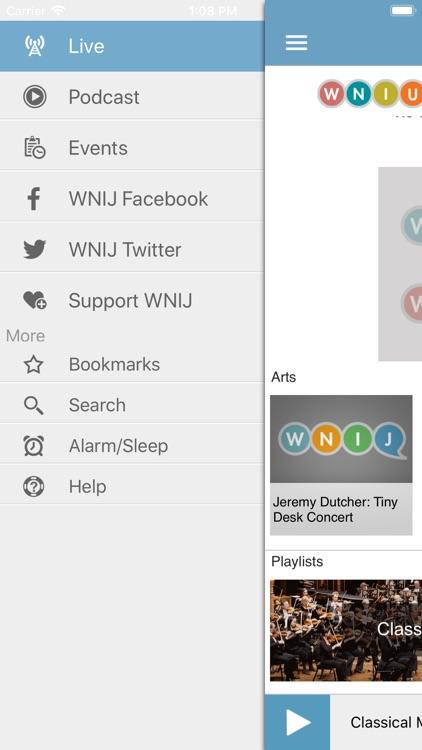WNIU Public Radio App screenshot-3