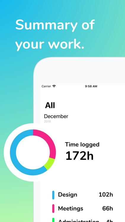Jiffy - Work Time Tracker screenshot-3