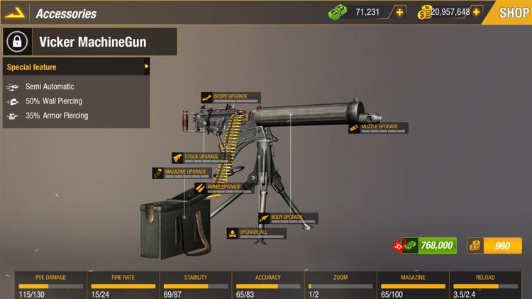 Sniper 3D: Bullet Strike PvP screenshot-9