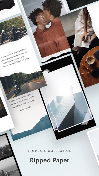 Unfold — Story Templates Screenshot