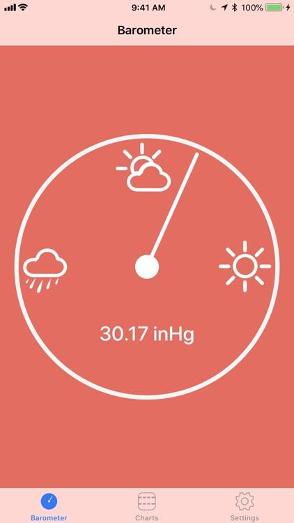 Digital Barometer S10 screenshot-0