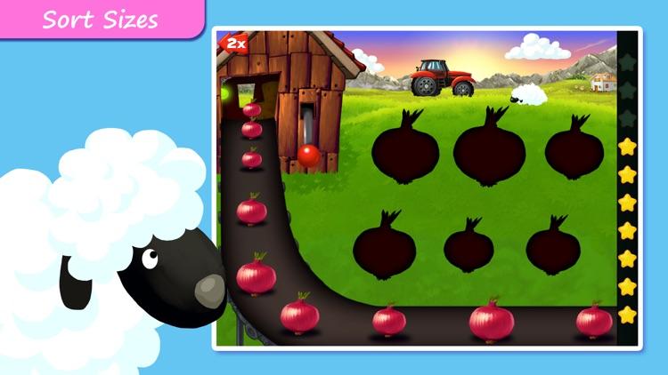 Shapes & Colors Farm Puzzles screenshot-3