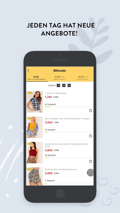 Screenshot for SHEIN-Shopping und Fashion in Switzerland App Store