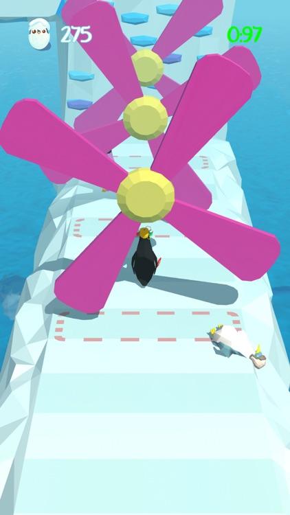 Penguins Race - Battle Royale screenshot-5