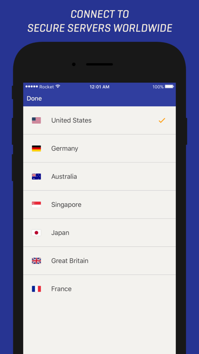 Download Rocket VPN – Private Browsing for Android