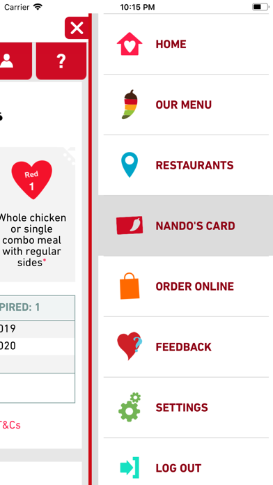 Nando's screenshot two