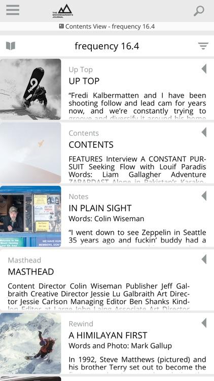 The Snowboarder's Journal screenshot-5