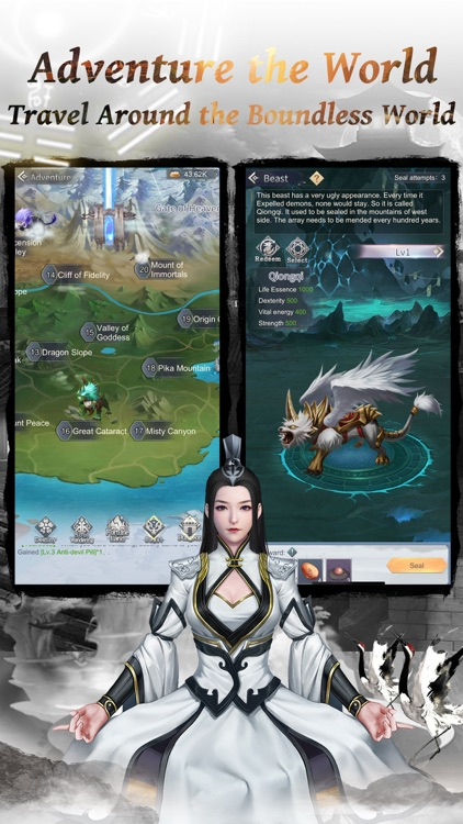 Immortal Taoists - Wuxia idle screenshot-3