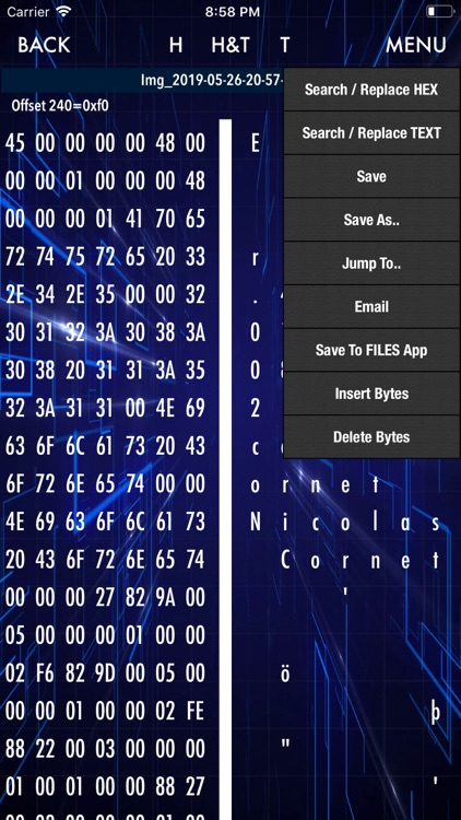 HEX Editor screenshot-3