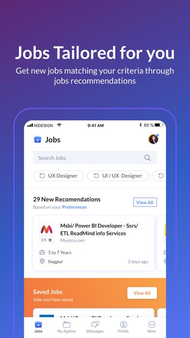 Naukri com Job Search App Análisis y Crítica - Business
