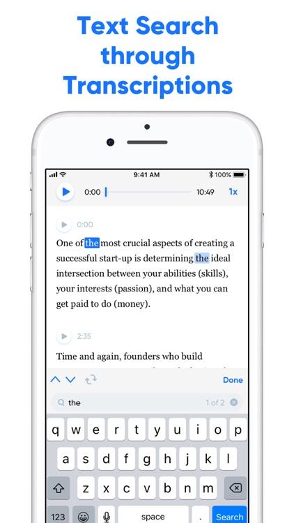 Transcribe - Speech to Text screenshot-3